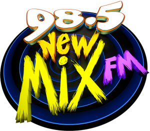 W98.5 New Mix FM Logo600