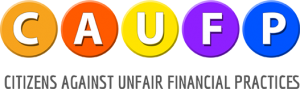 Citizens Against Unfair Financial Practices Logo