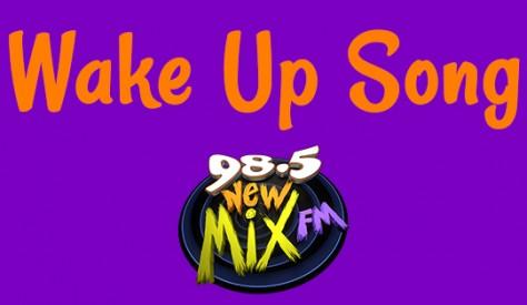 wake up song banner social