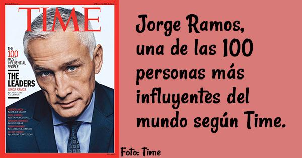 Jorge Ramos, portada de la revista Time
