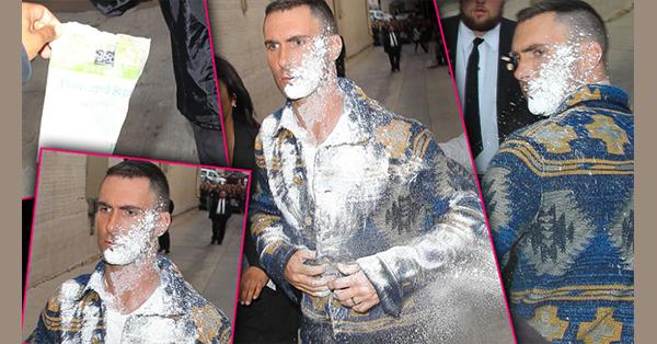 Adam Levine de 'Maroon 5' fue agredido por un fanático