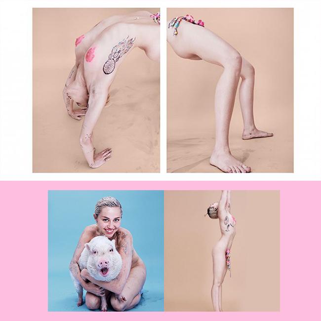 Miley Cyrus Nude Photos & Videos -