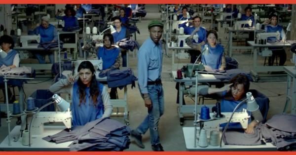 Pharrell Williams comparte el video para 'Freedom'