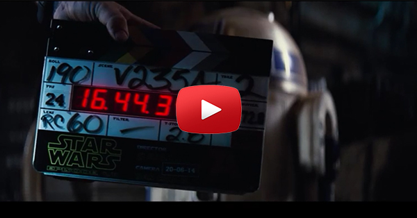 Mira el backstage de Star Wars 7 (VIDEO)
