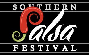 Salsa Fest Logo White